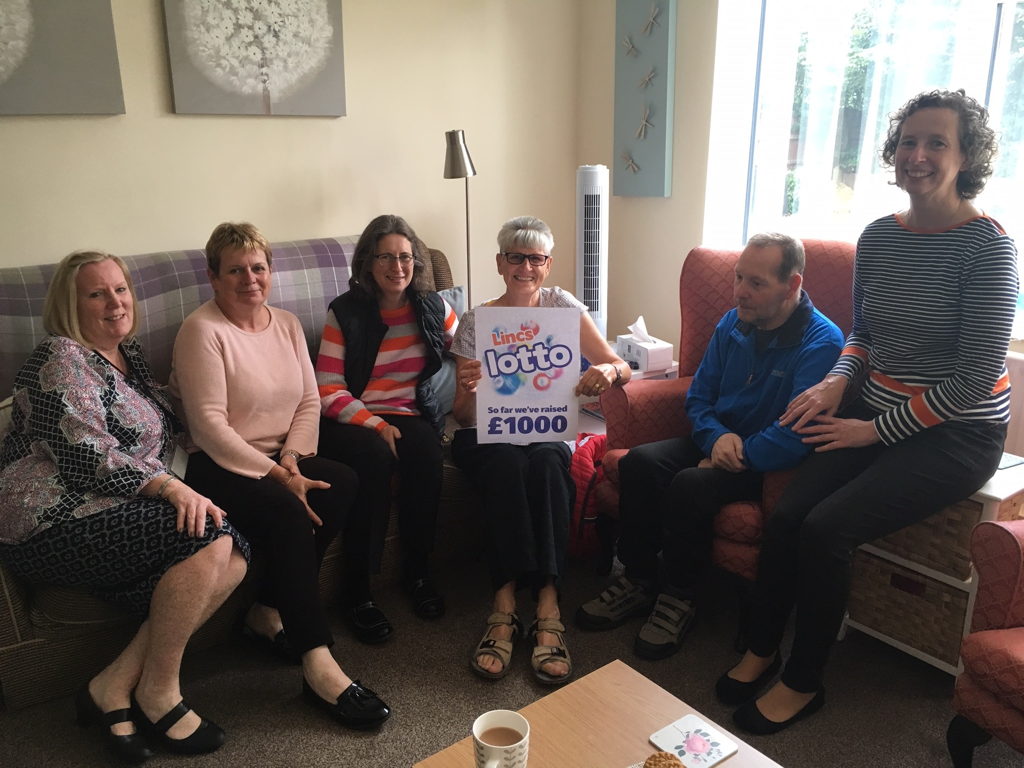 Peggy's World CiC raises £1,000 through Lincs Lotto