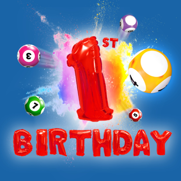 Help us celebrate Lincs Lotto's 1st Birthday