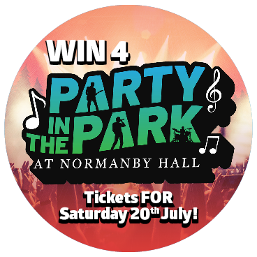 Special Summer draw Party in the Park Tickets up for grabs!
